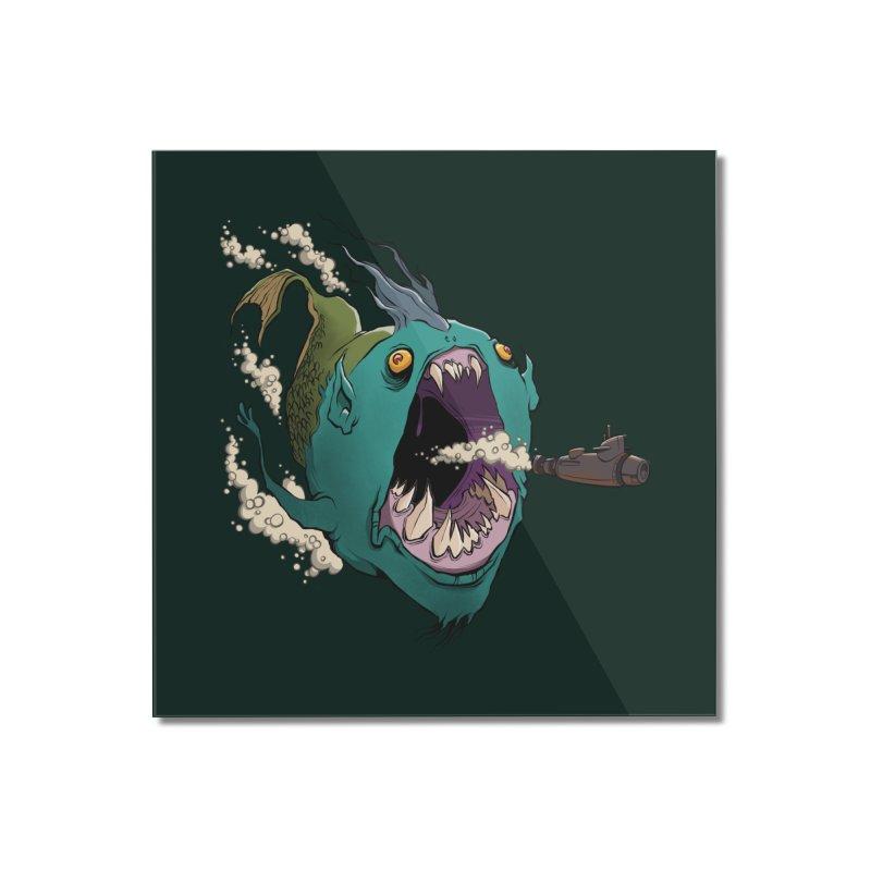 Mermaid! Home Mounted Acrylic Print by westinchurch's Artist Shop