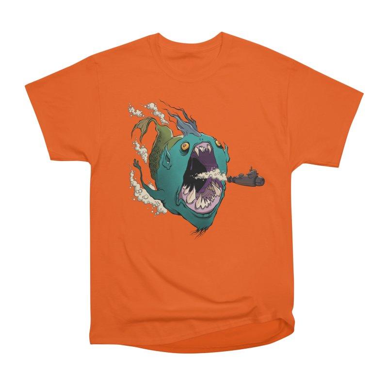 Mermaid! Women's Heavyweight Unisex T-Shirt by westinchurch's Artist Shop