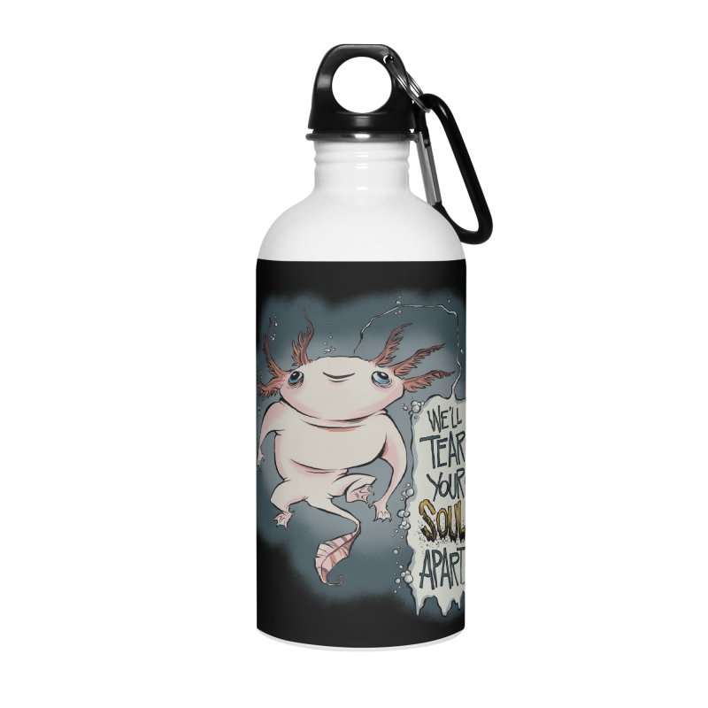 Hellraiser Axolotl Accessories Water Bottle by westinchurch's Artist Shop