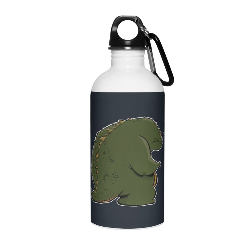Godzilla? Accessories Water Bottle by westinchurch's Artist Shop