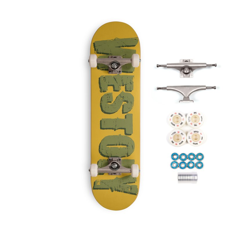 Westoly Skateboard - Earth Mover Accessories Complete - Premium Skateboard by Westoly Artist Shop