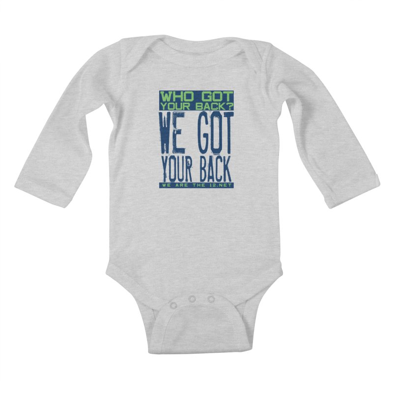 Who Got Your Back? Kids Baby Longsleeve Bodysuit by Westoly