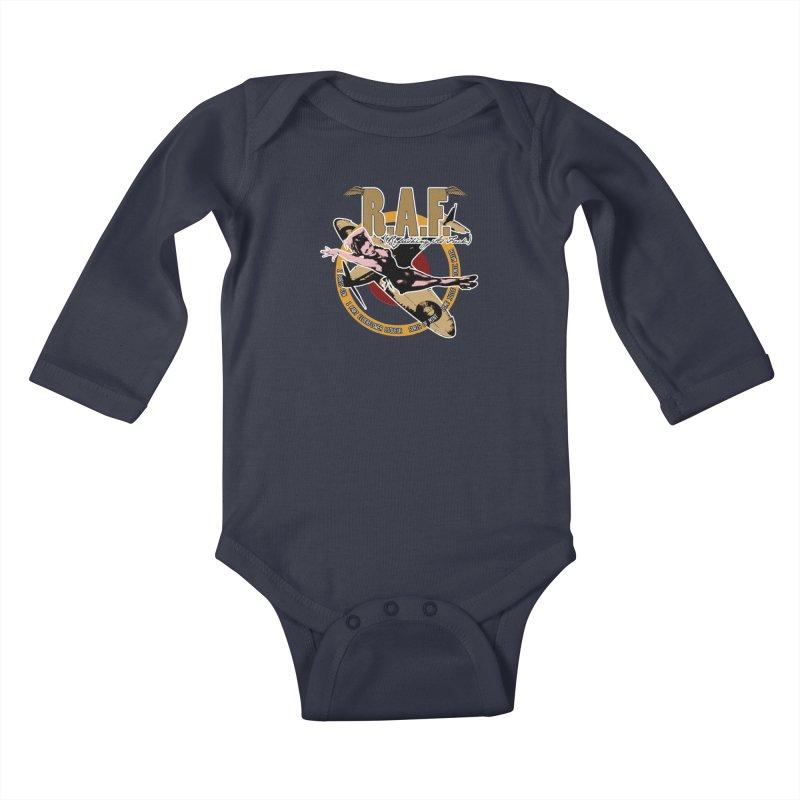 R.A.F. Kids Baby Longsleeve Bodysuit by Westoly