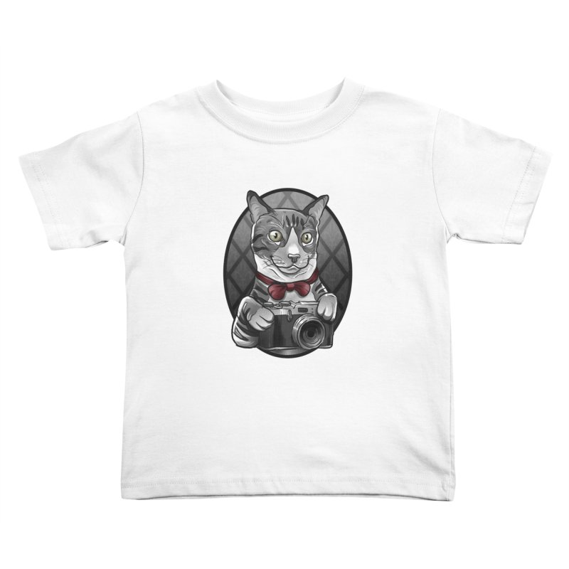 2016Q4 Toby the Tabby Cat Kids Toddler T-Shirt by West St. Studios' Artist Shop