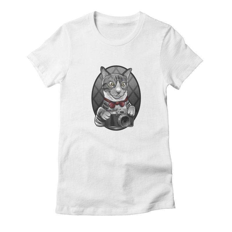 2016Q4 Toby the Tabby Cat Women's T-Shirt by West St. Studios' Artist Shop