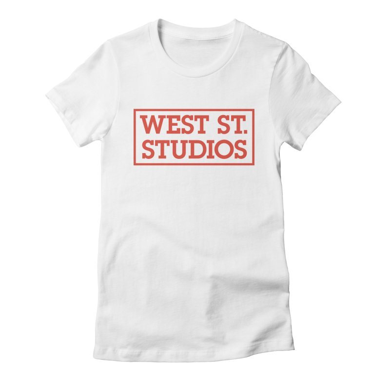 West St. Studios Logo, Red   by West St. Studios' Artist Shop
