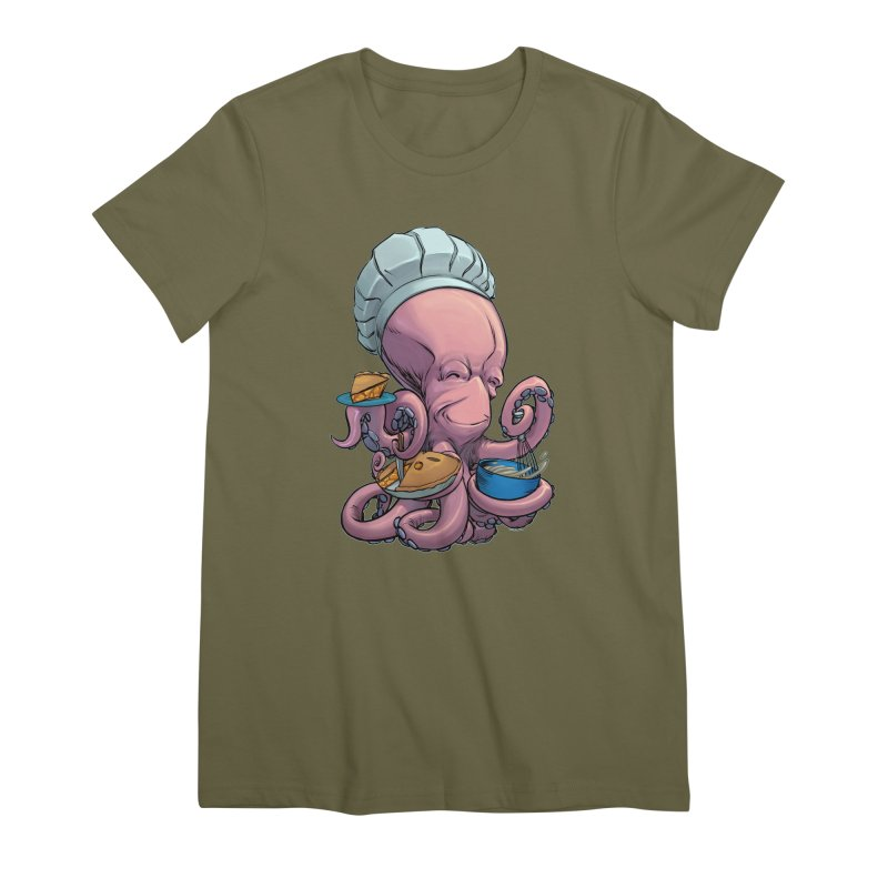 Octopie Women's Premium T-Shirt by weswongwithyou's Artist Shop