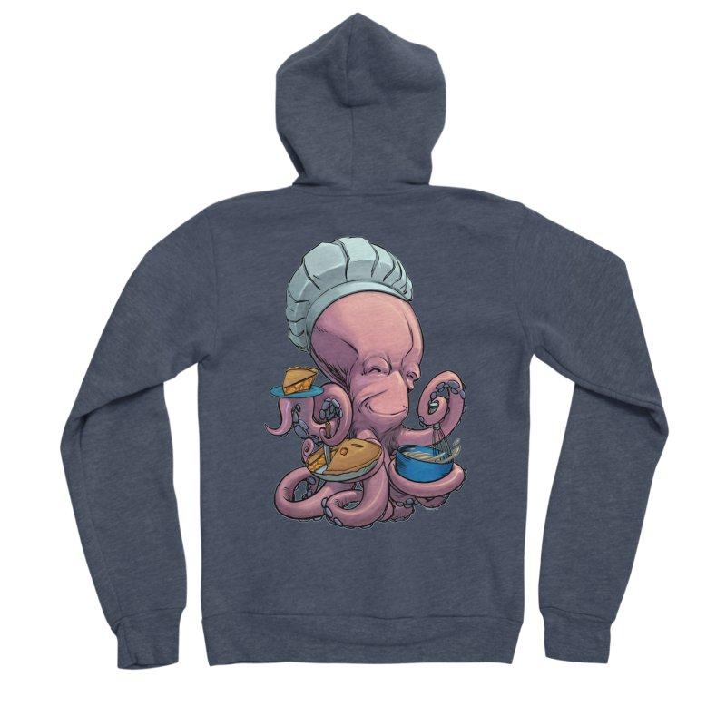 Octopie Men's Sponge Fleece Zip-Up Hoody by weswongwithyou's Artist Shop