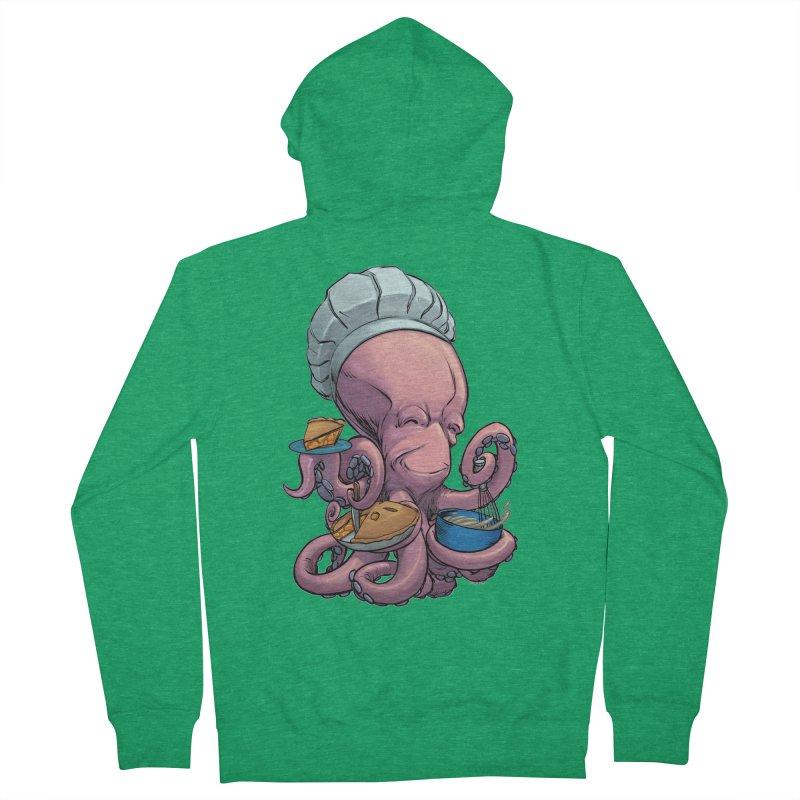 Octopie Men's Zip-Up Hoody by weswongwithyou's Artist Shop