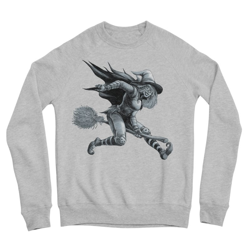 Racing Witch Men's Sweatshirt by weswongwithyou's Artist Shop