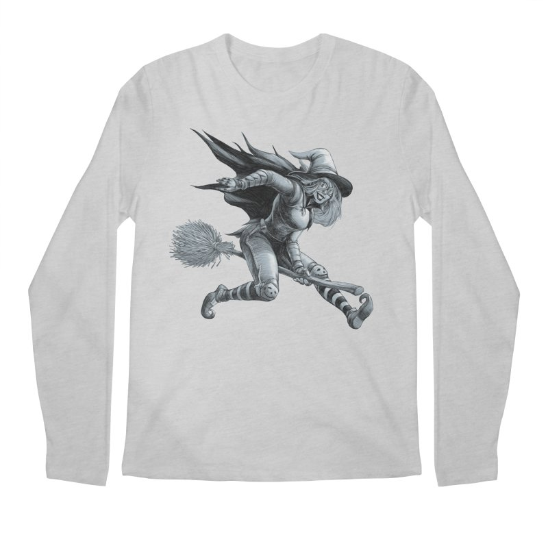 Racing Witch Men's Longsleeve T-Shirt by weswongwithyou's Artist Shop
