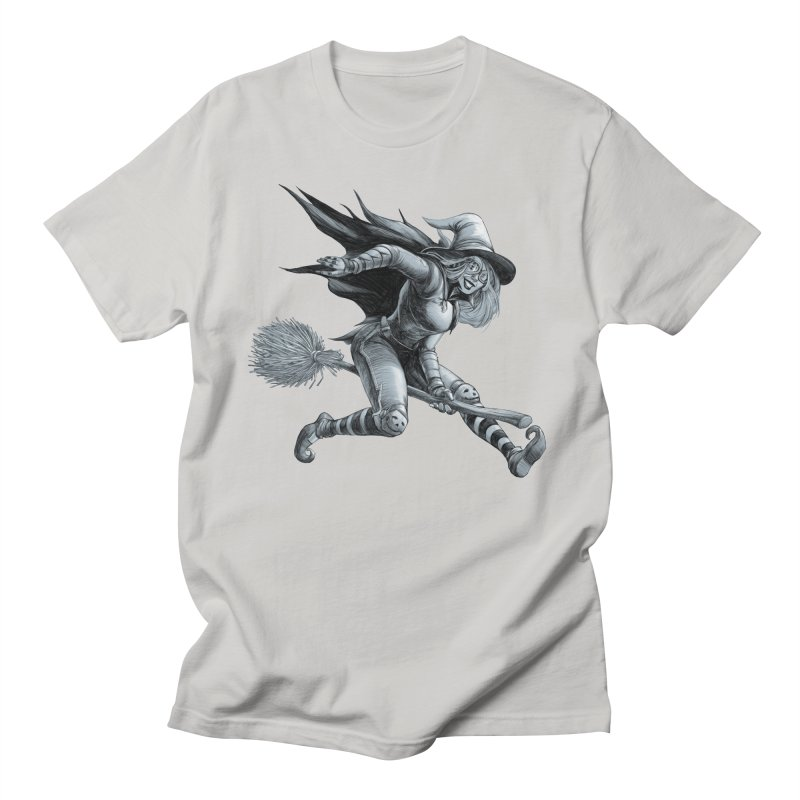 Racing Witch Men's T-Shirt by weswongwithyou's Artist Shop