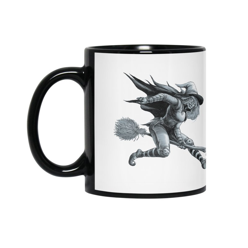 Racing Witch Accessories Mug by weswongwithyou's Artist Shop