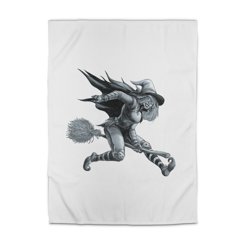 Racing Witch Home Rug by weswongwithyou's Artist Shop