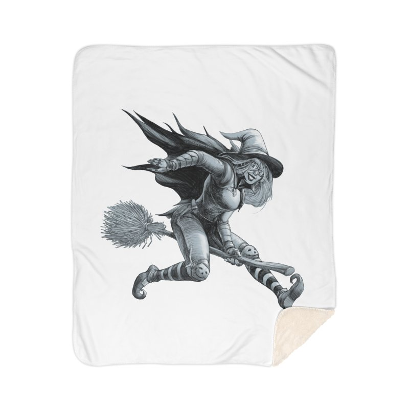 Racing Witch Home Blanket by weswongwithyou's Artist Shop