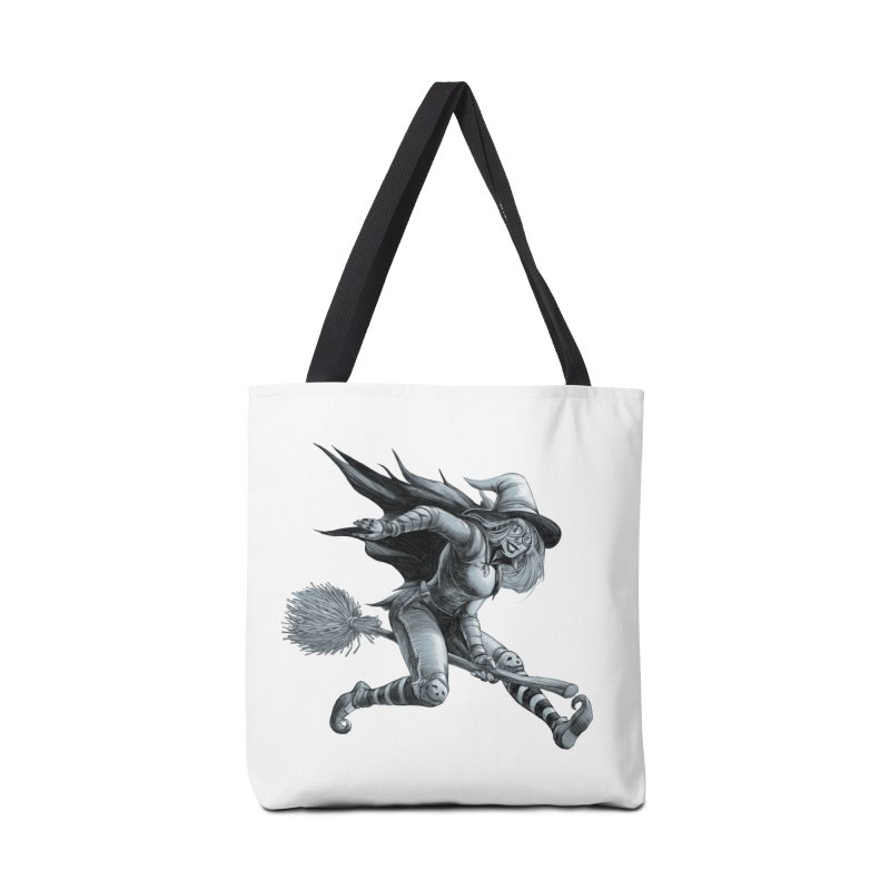 Racing Witch Accessories Bag by weswongwithyou's Artist Shop
