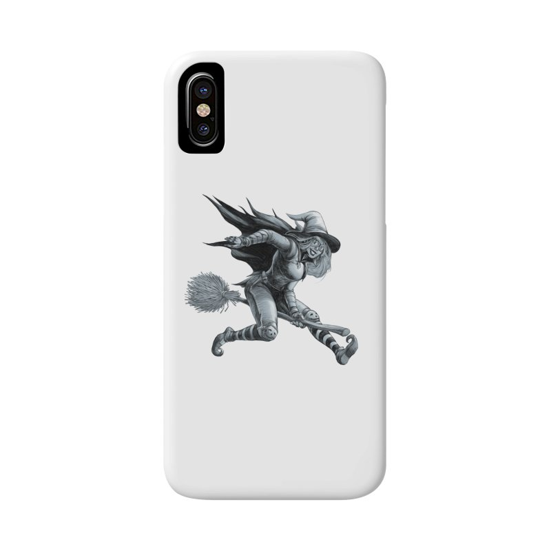 Racing Witch Accessories Phone Case by weswongwithyou's Artist Shop