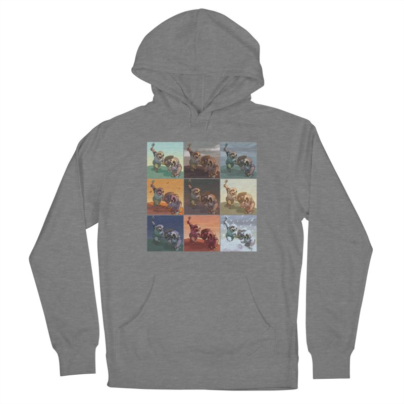 Sloth Battle Women's Pullover Hoody by weswongwithyou's Artist Shop