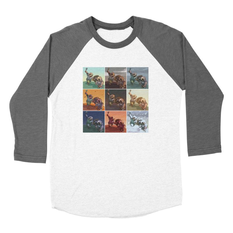 Sloth Battle Women's Longsleeve T-Shirt by weswongwithyou's Artist Shop