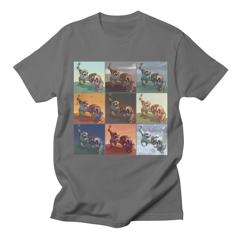 Sloth Battle Men's T-Shirt by weswongwithyou's Artist Shop