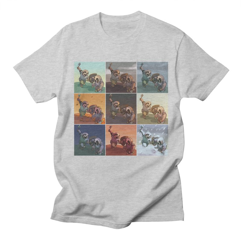 Sloth Battle Women's Regular Unisex T-Shirt by weswongwithyou's Artist Shop
