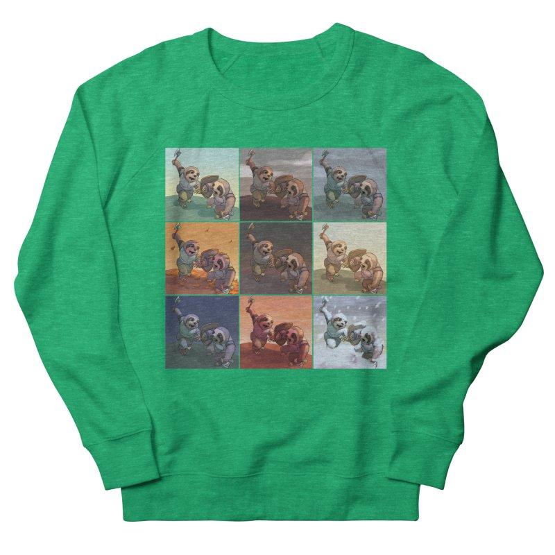 Sloth Battle Men's Sweatshirt by weswongwithyou's Artist Shop