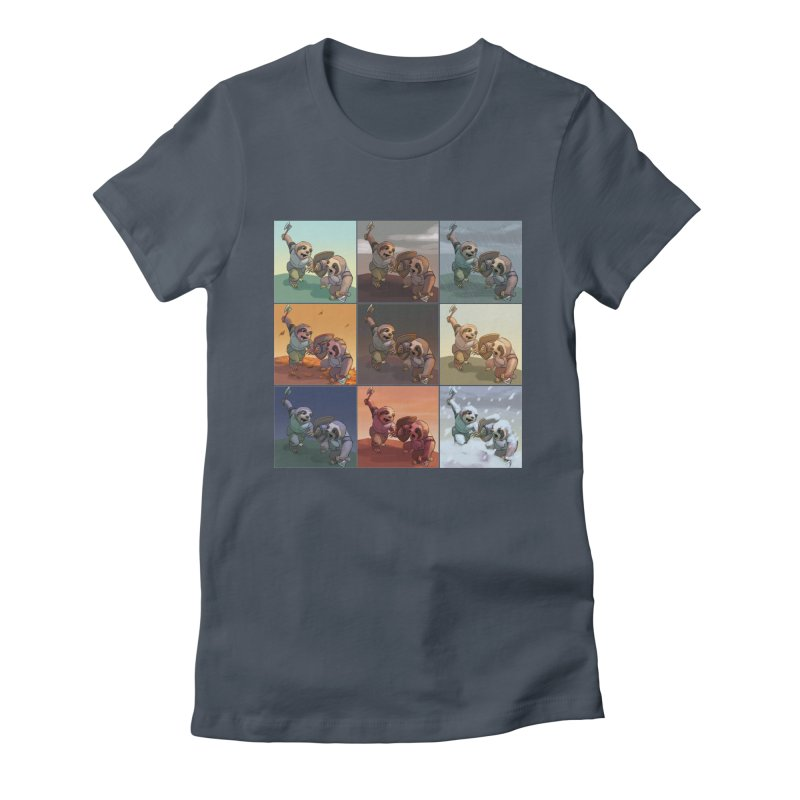 Sloth Battle Women's T-Shirt by weswongwithyou's Artist Shop