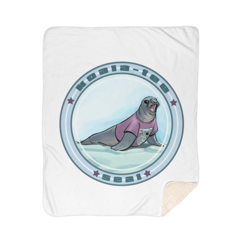 Koala-Tee Seal Home Blanket by weswongwithyou's Artist Shop