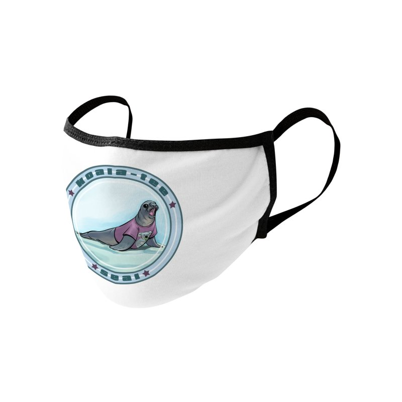 Koala-Tee Seal Accessories Face Mask by weswongwithyou's Artist Shop