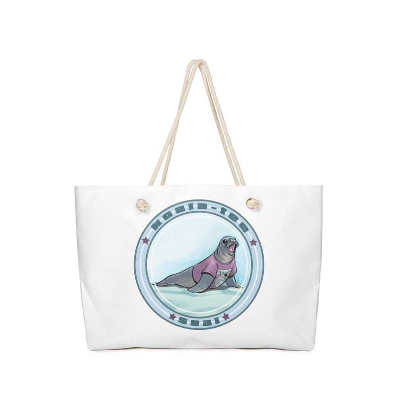 Koala-Tee Seal Accessories Bag by weswongwithyou's Artist Shop