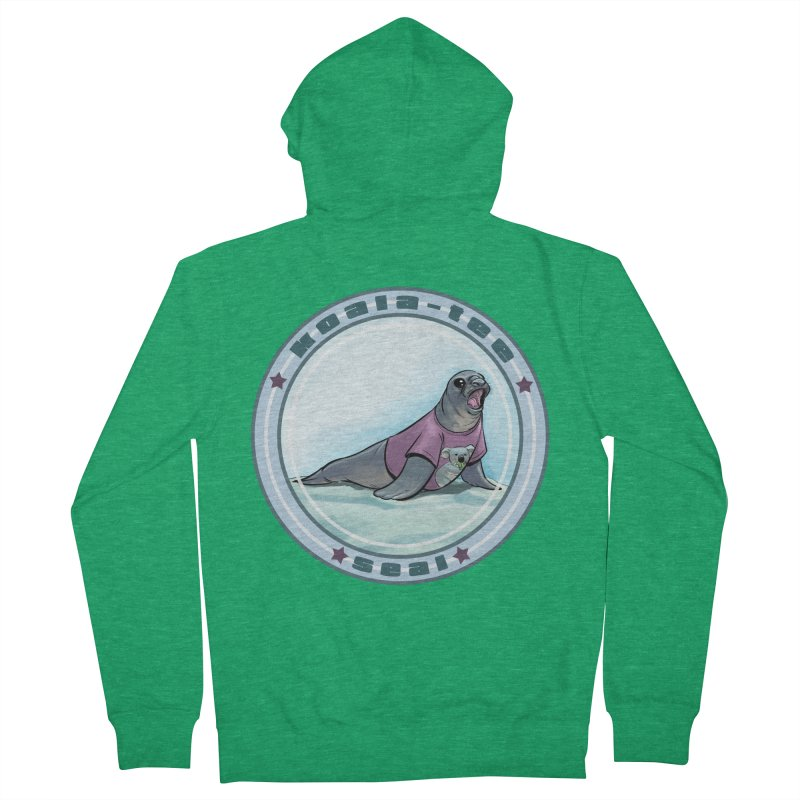 Koala-Tee Seal Men's Zip-Up Hoody by weswongwithyou's Artist Shop