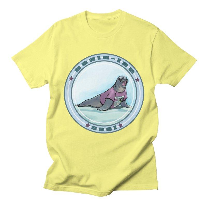 Koala-Tee Seal Men's T-Shirt by weswongwithyou's Artist Shop