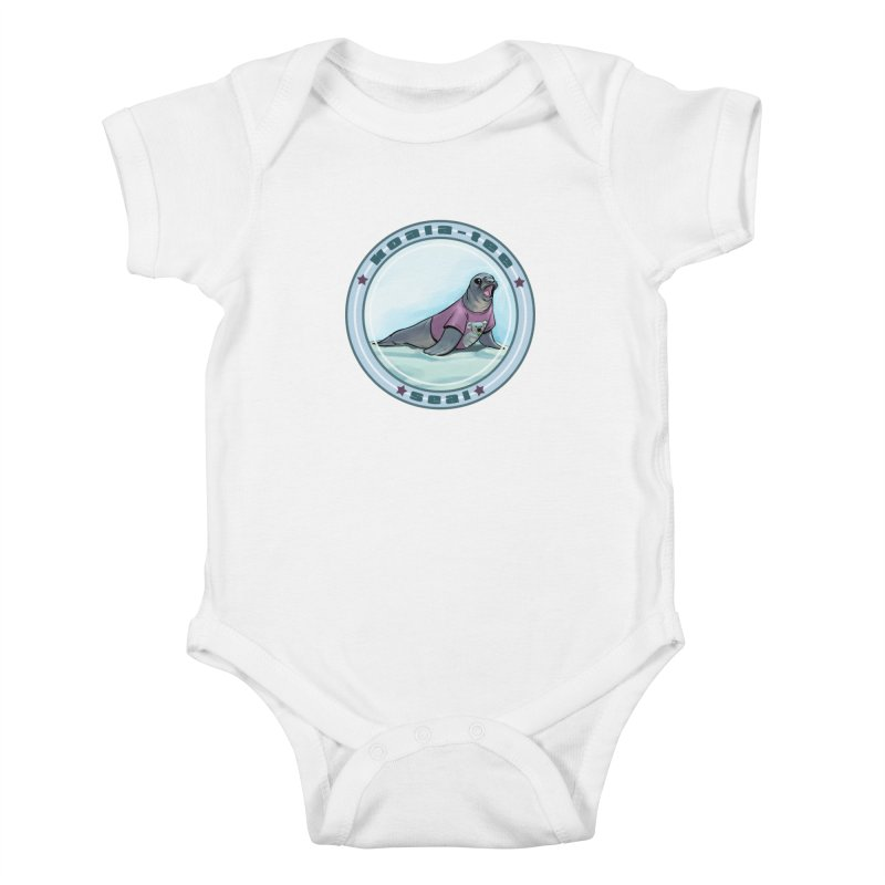 Koala-Tee Seal Kids Baby Bodysuit by weswongwithyou's Artist Shop