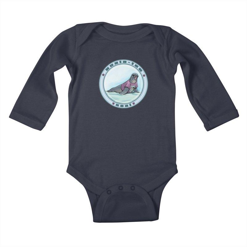 Koala-Tee Seal Kids Baby Longsleeve Bodysuit by weswongwithyou's Artist Shop