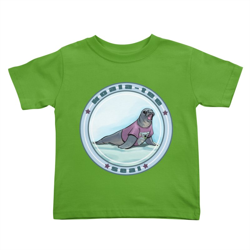 Koala-Tee Seal Kids Toddler T-Shirt by weswongwithyou's Artist Shop