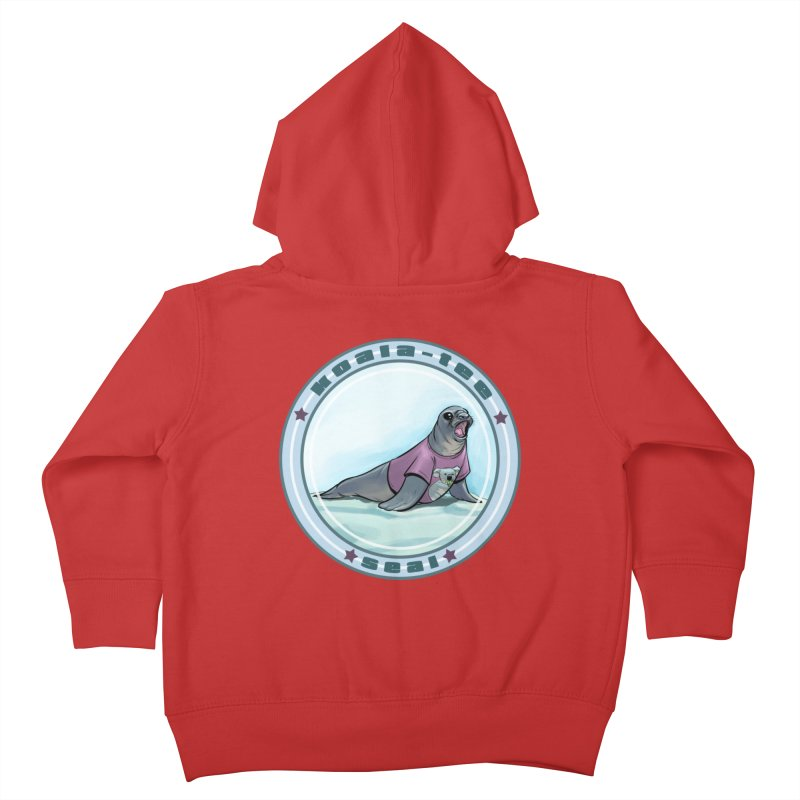 Koala-Tee Seal Kids Toddler Zip-Up Hoody by weswongwithyou's Artist Shop