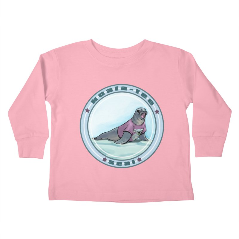 Koala-Tee Seal Kids Toddler Longsleeve T-Shirt by weswongwithyou's Artist Shop