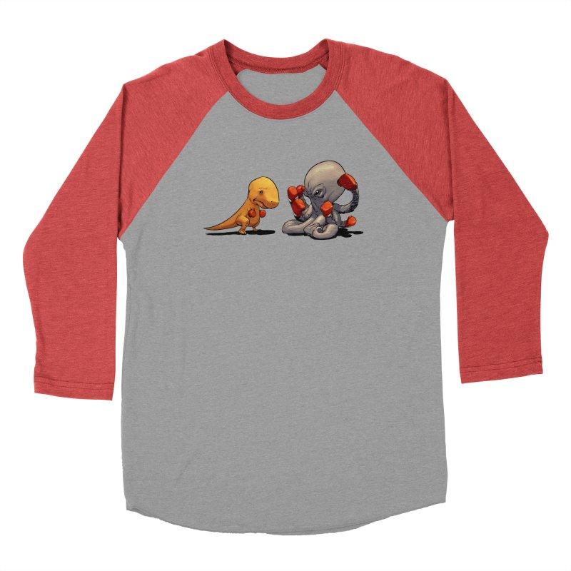 T-Rex vs Octopus Men's Longsleeve T-Shirt by weswongwithyou's Artist Shop