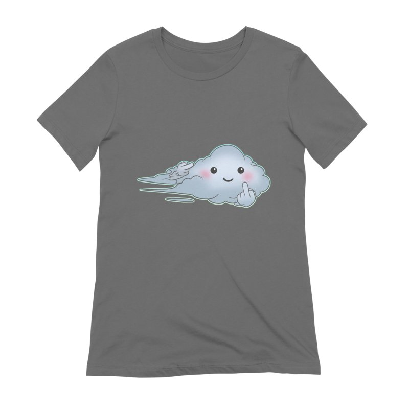Cloudy Interference Women's Extra Soft T-Shirt by weswongwithyou's Artist Shop