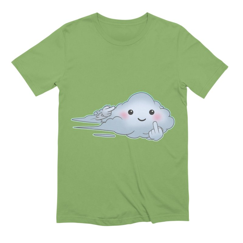 Cloudy Interference Men's Extra Soft T-Shirt by weswongwithyou's Artist Shop