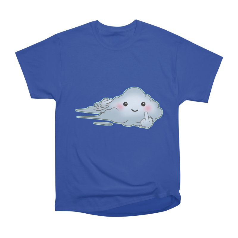 Cloudy Interference Women's Heavyweight Unisex T-Shirt by weswongwithyou's Artist Shop