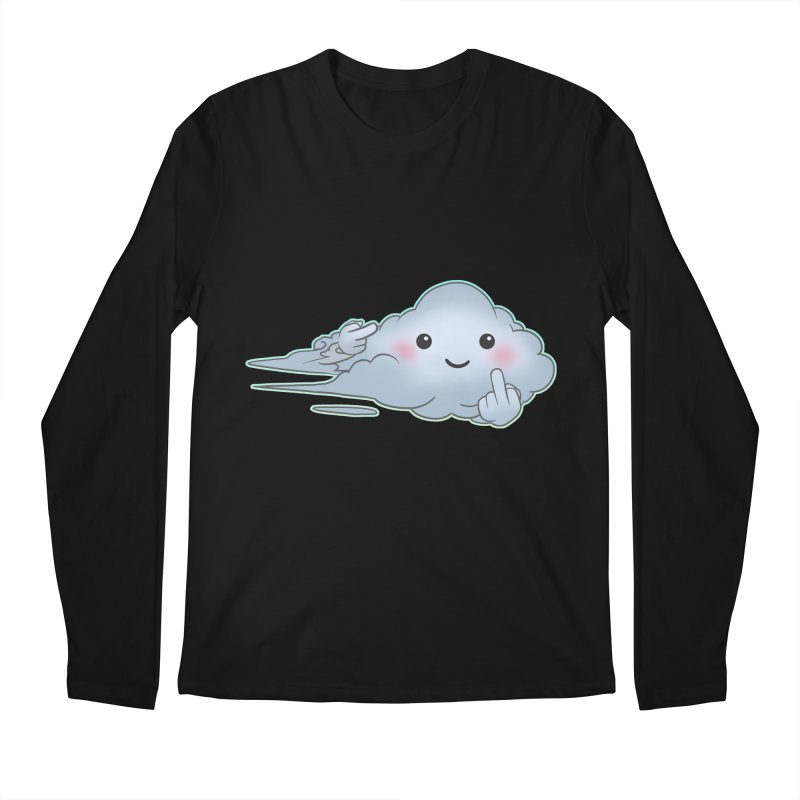 Cloudy Interference Men's Longsleeve T-Shirt by weswongwithyou's Artist Shop