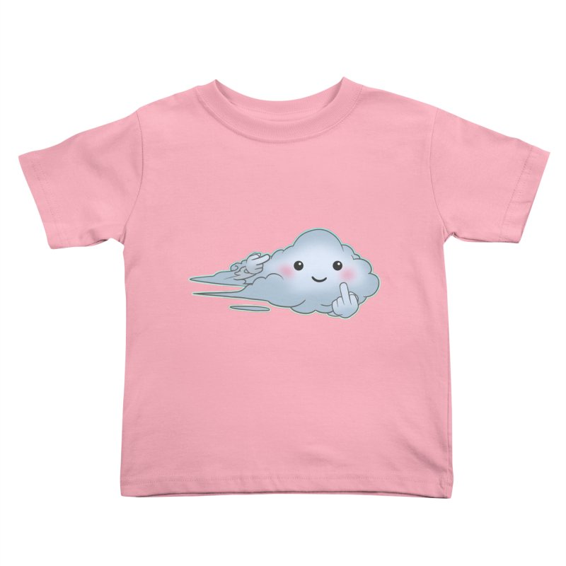 Cloudy Interference Kids Toddler T-Shirt by weswongwithyou's Artist Shop