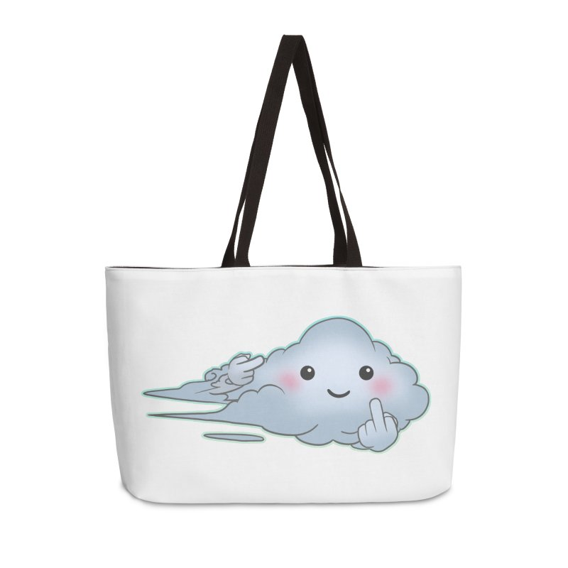 Cloudy Interference Accessories Bag by weswongwithyou's Artist Shop