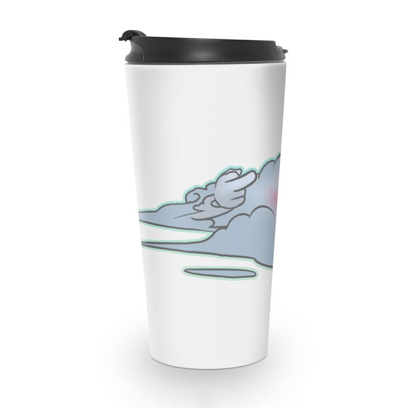 Cloudy Interference Accessories Travel Mug by weswongwithyou's Artist Shop