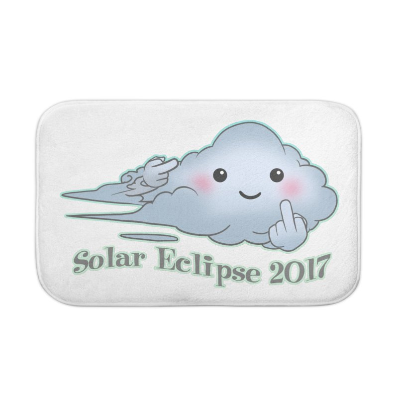 Cloudy Interference - Eclipse variant Home Bath Mat by weswongwithyou's Artist Shop