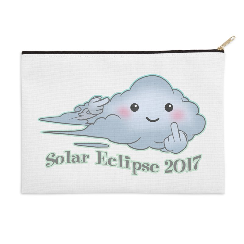 Cloudy Interference - Eclipse variant Accessories Zip Pouch by weswongwithyou's Artist Shop