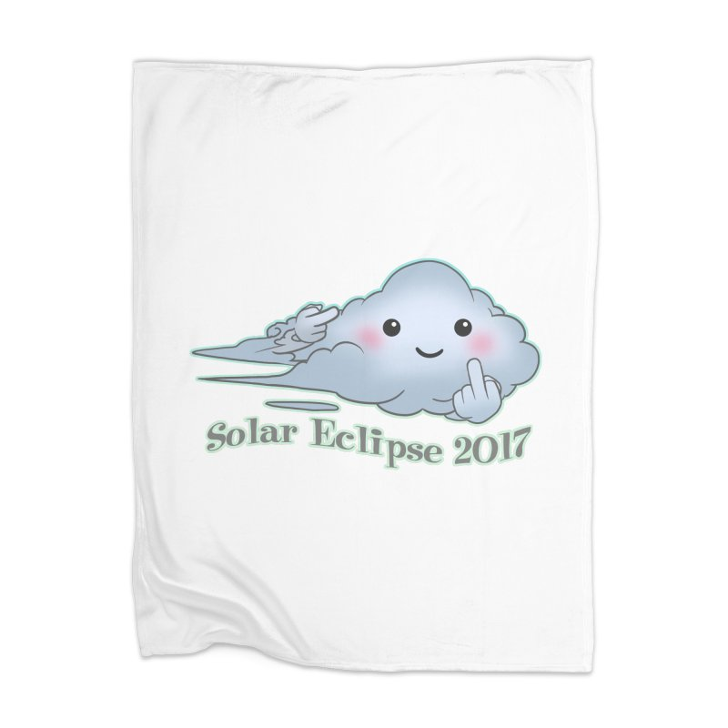 Cloudy Interference - Eclipse variant Home Blanket by weswongwithyou's Artist Shop