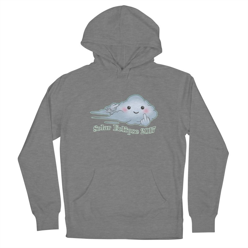 Cloudy Interference - Eclipse variant Men's Pullover Hoody by weswongwithyou's Artist Shop