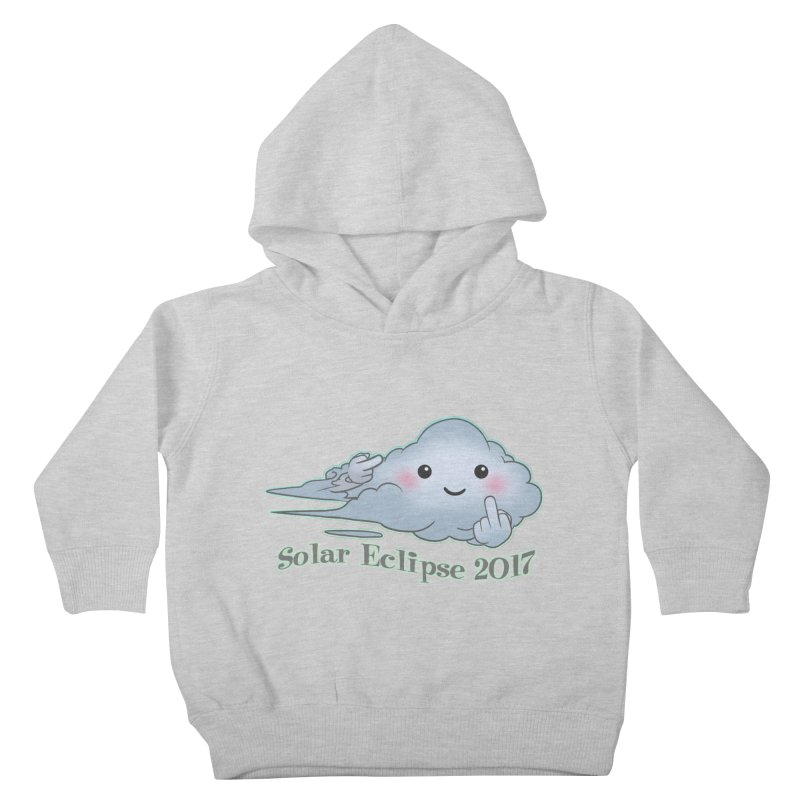 Cloudy Interference - Eclipse variant Kids Toddler Pullover Hoody by weswongwithyou's Artist Shop